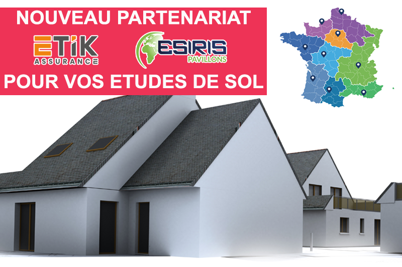 Partenariat Etik / Esiris Pavillon pour votre étude de sol